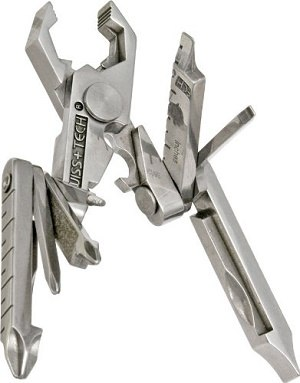 Swiss+Tech ST53100 Polished SS 19-in-1 Micro Pocket Multitool