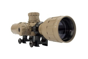 Monstrum Tactical 3-9x32 AO Rifle Scope