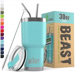 best insulated tumbler with straw